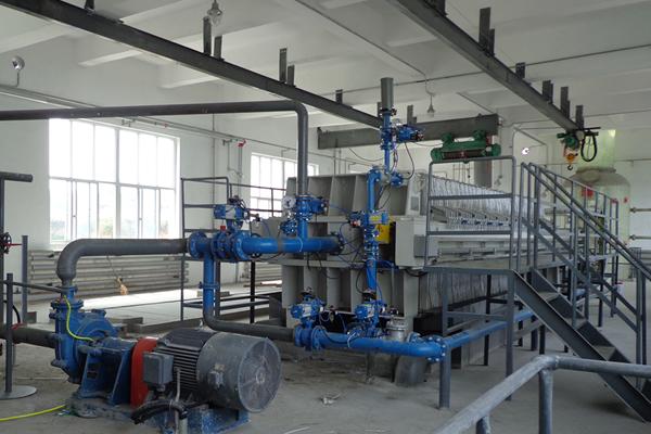 煤泥压滤脱水机设备